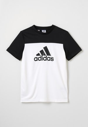 TEE - T-shirt print - white/black