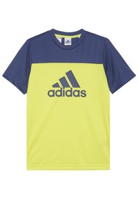 adidas Performance - TEE - T-shirt con stampa - yellow - 1