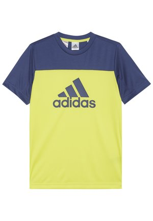 TEE - Print T-shirt - yellow