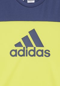 adidas Performance - TEE - Print T-shirt - yellow - 3