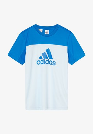 TEE - T-shirt con stampa - lieght blue/blue