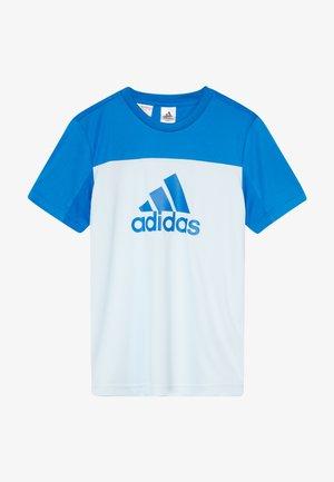 TEE - Print T-shirt - lieght blue/blue