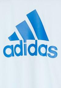 adidas Performance - TEE - T-shirt print - lieght blue/blue - 3