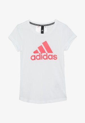 BOS TEE - T-shirt con stampa - white