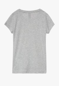 adidas Performance - TEE - Print T-shirt - mottled grey - 1