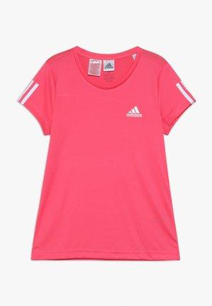 TEE - Printtipaita - pink/white