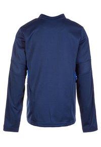 adidas Performance - TIRO 19 TRAINING TOP - Sportshirt - dark blue / bold blue / white - 1