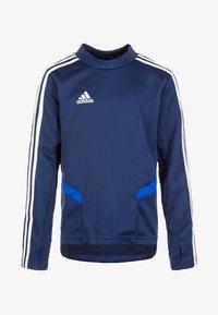 adidas Performance - TIRO 19 TRAINING TOP - Sportshirt - dark blue / bold blue / white - 0