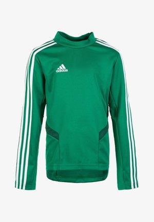 TIRO 19 TRAINING TOP - Sports shirt - bold green/white