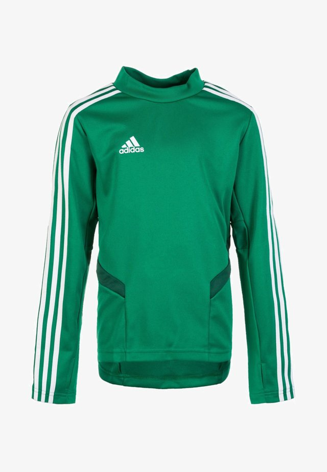 TIRO 19 TRAINING TOP - T-shirt de sport - bold green/white