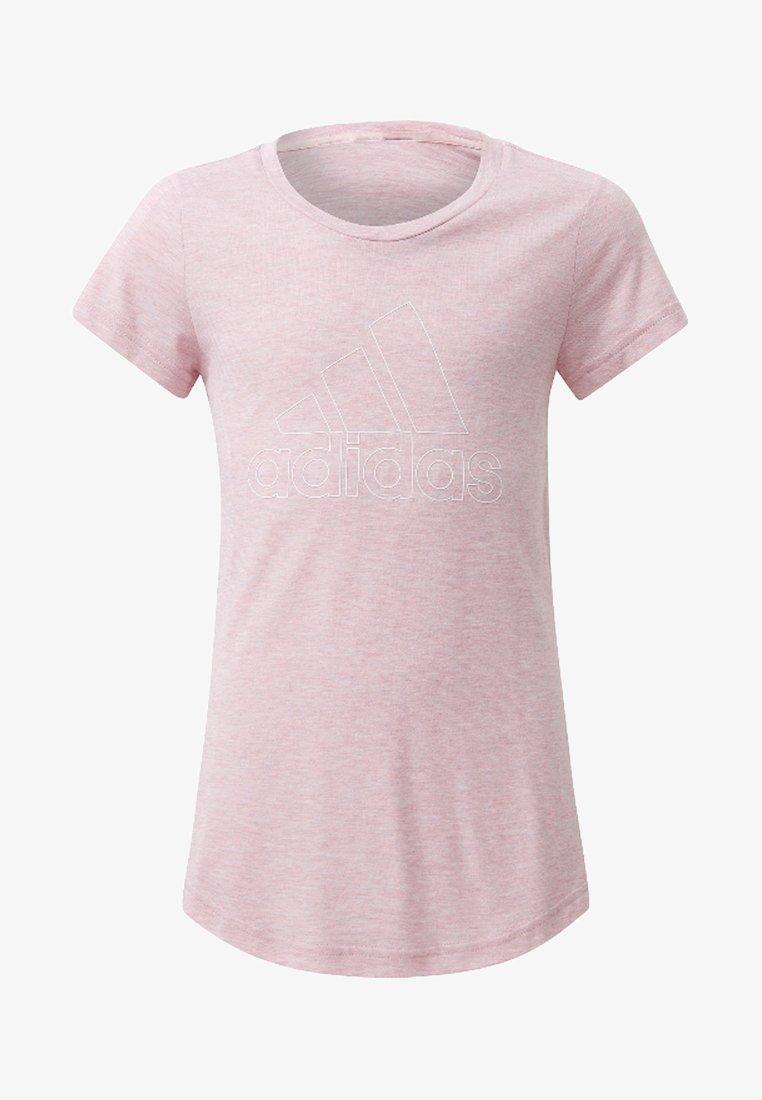 adidas Performance - ID Winner Tee - Camiseta estampada - pink