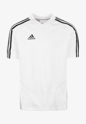 TIRO 19 TRAININGS - Print T-shirt - white/black