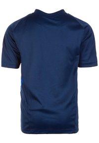 adidas Performance - TIRO 19 TRAININGS - T-shirt print - dark blue/white - 1