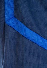 adidas Performance - TIRO 19 TRAININGS - T-shirt print - dark blue/white - 2