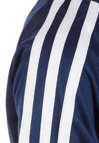 adidas Performance - TIRO 19 TRAININGS - T-shirt print - dark blue/white - 3