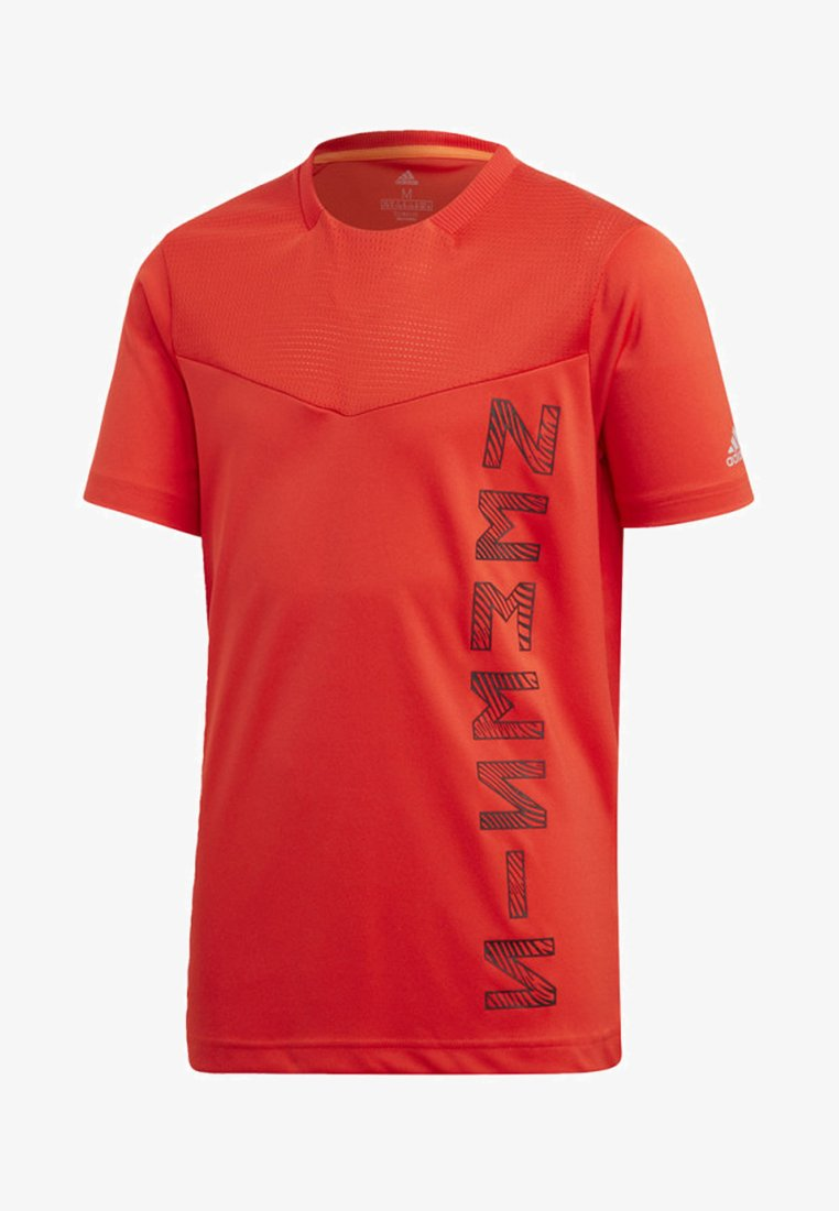 adidas Performance - ADIDAS X NEMESIS - T-shirt print - active red/black