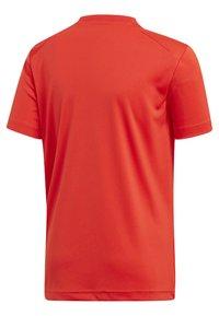 adidas Performance - ADIDAS X NEMESIS - T-shirt print - active red/black - 1