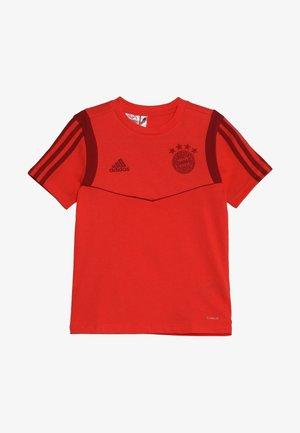 FC BAYERN MÜNCHEN TEE Y - Fanartikel - bright red/active maroon