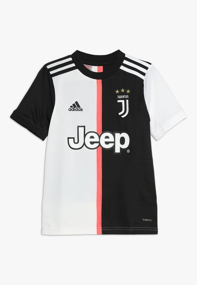 JUVENTUS TURIN HOME - Club wear - black/white