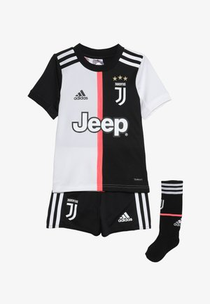 JUVENTUS MINI SET - Korte broeken - black/white