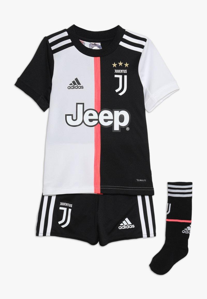 adidas Performance - JUVENTUS MINI SET - kurze Sporthose - black/white