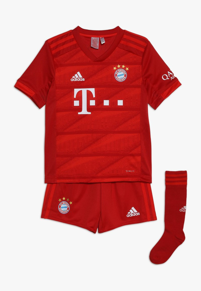 adidas Performance - FC BAYERN MÜNCHEN MINI SET - Korte broeken - true red