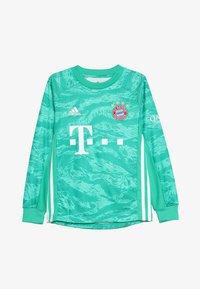 adidas Performance - FC BAYERN MÜNCHEN H GK JSY Y - Club wear - core green - 2