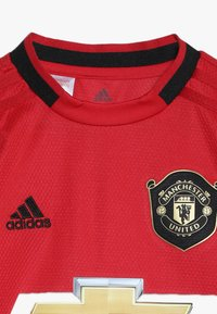 adidas Performance - MANCHESTER UNITED FC HOME - Klubbkläder - real red - 4