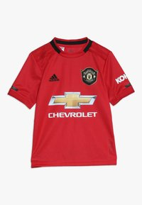 adidas Performance - MANCHESTER UNITED FC HOME - Klubbkläder - real red - 0