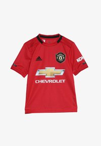 adidas Performance - MANCHESTER UNITED FC HOME - Klubbkläder - real red - 3