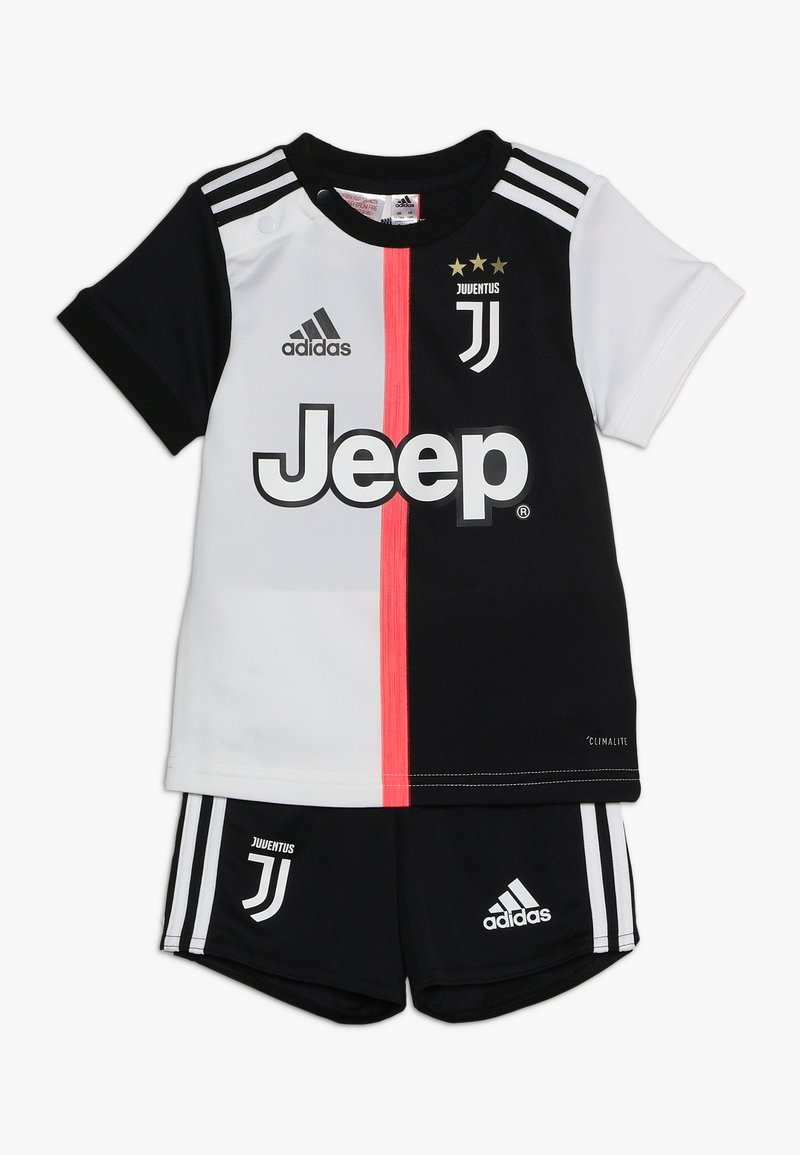 adidas Performance - JUVE HOME BABY - Vereinsmannschaften - black/white