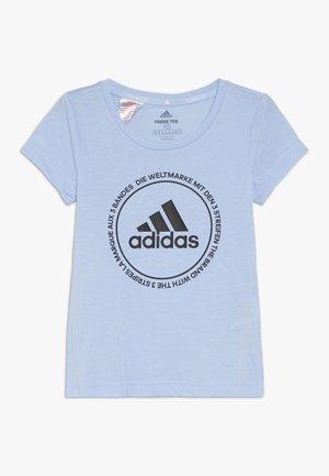 PRIME TEE - Camiseta estampada - glow blue/black