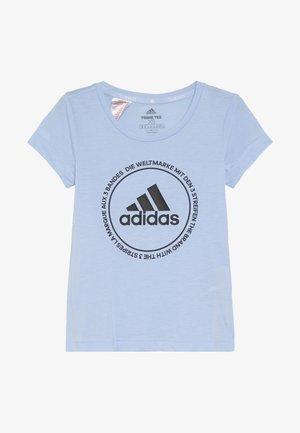 PRIME TEE - T-shirt print - glow blue/black