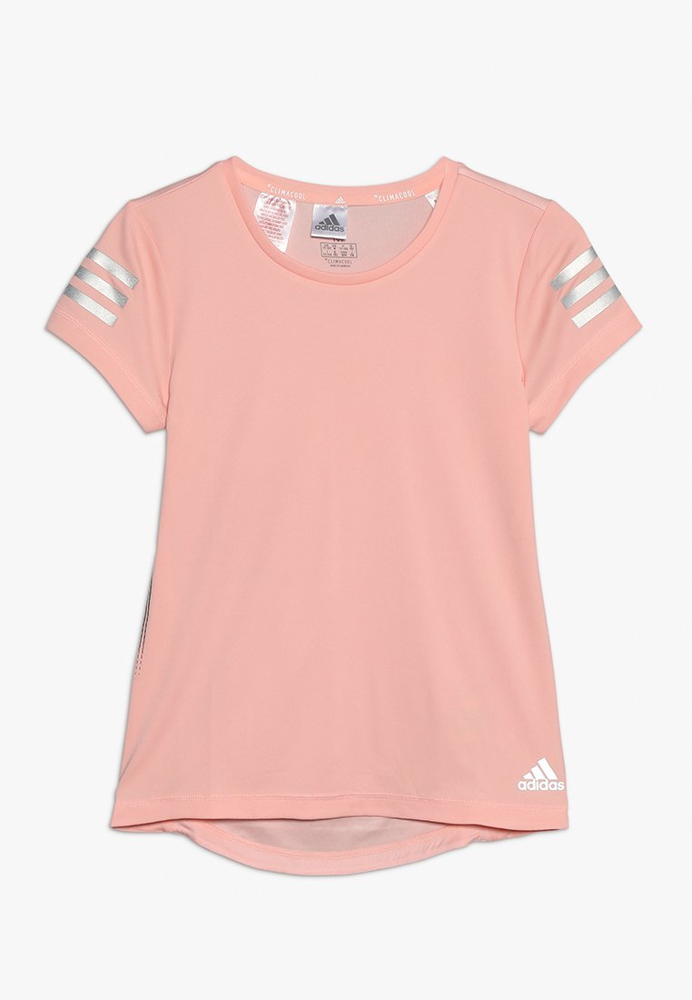 adidas Performance - RUN TEE - Camiseta estampada - glow pink/silver