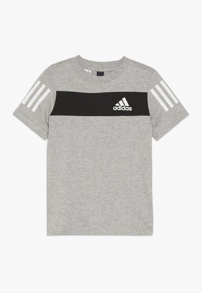 adidas Performance - SID TEE - Triko spotiskem - mottled grey/black