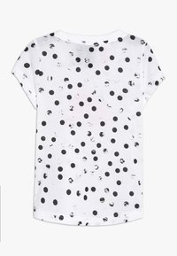 adidas Performance - TEE - Print T-shirt - white/black/real pink - 1