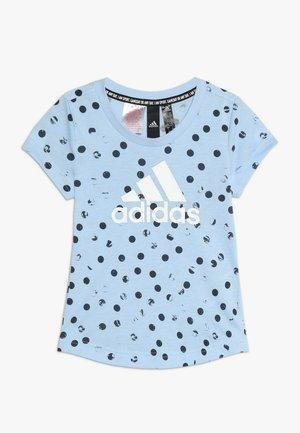 TEE - T-shirt imprimé - glow blue/legend ink/white