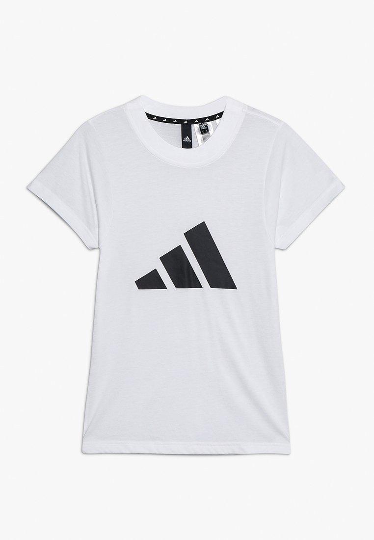 adidas Performance - ID TEE - T-shirt print - white/black