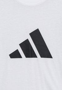 adidas Performance - ID TEE - T-shirt print - white/black - 4