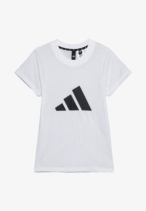 ID TEE - Triko spotiskem - white/black