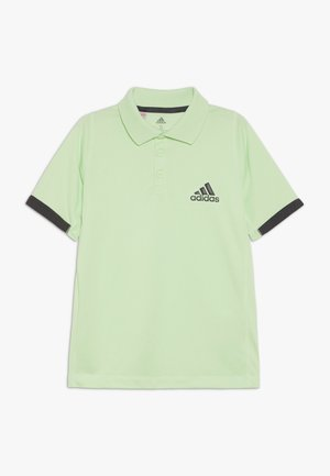Poloshirt - glowgreen/carbon