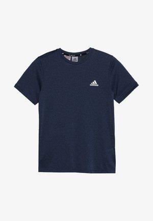 TEE - T-shirt z nadrukiem - blue/tech ink/black