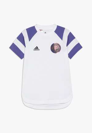 PAUL POGBA  - T-shirt print - white/purple