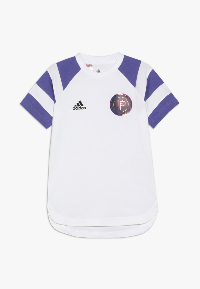 adidas Performance - PAUL POGBA  - T-shirt z nadrukiem - white/purple