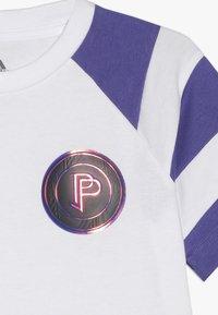 adidas Performance - PAUL POGBA  - T-shirt z nadrukiem - white/purple - 3