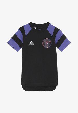 PAUL POGBA  - T-shirt print - black/purple