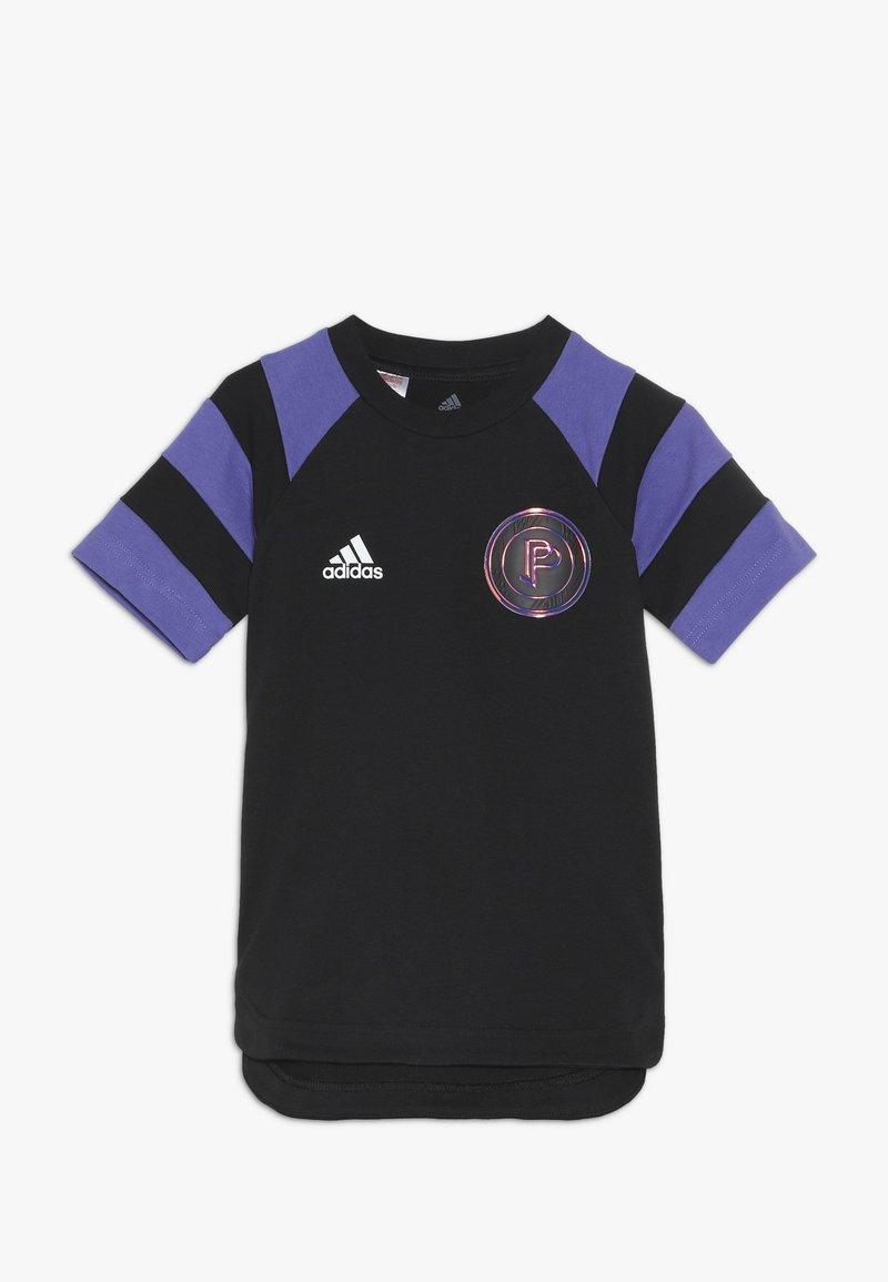 adidas Performance - PAUL POGBA  - Camiseta estampada - black/purple