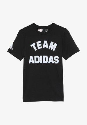 VARSITY - Print T-shirt - black