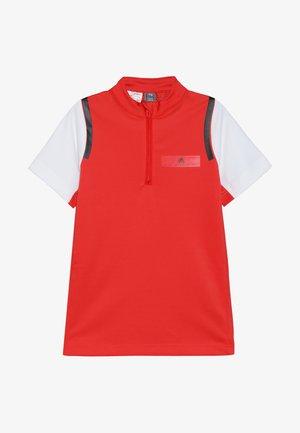 ASMC ZIP - Print T-shirt - active red