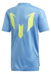adidas Performance - MESSI T-SHIRT - T-shirt imprimé - blue - 1